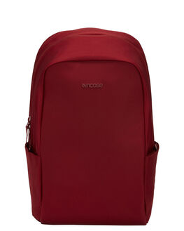 DEEP RED MENS ACCESSORIES INCASE BAGS - INCO100324DRD