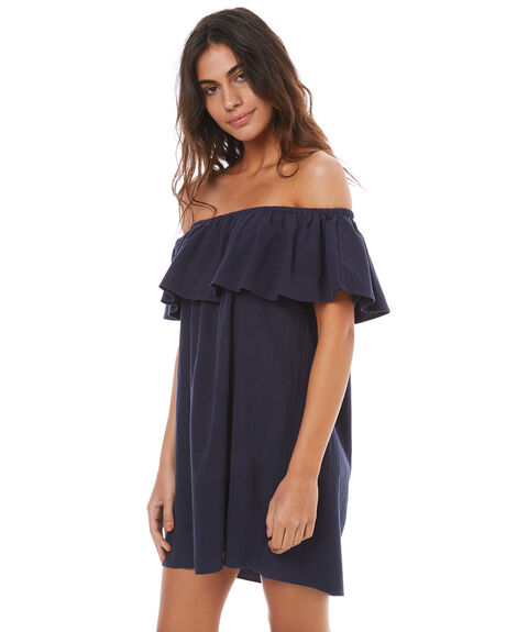 NAVY WOMENS CLOTHING ELWOOD DRESSES - W74731NAVY