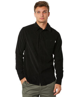 BLACK MENS CLOTHING RHYTHM SHIRTS - JUL18M-WT01BLK