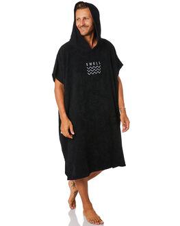 BLACK MENS ACCESSORIES SWELL TOWELS - S51641803BLK