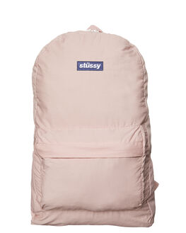 DUSTY PINK MENS ACCESSORIES STUSSY BAGS - ST773027DPNK
