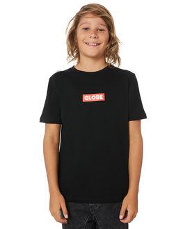 BLACK KIDS BOYS GLOBE TOPS - GB41930001BLK