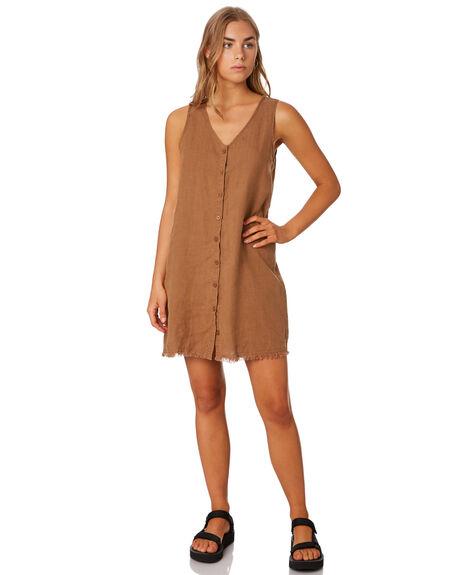 BRONZE WOMENS CLOTHING THRILLS DRESSES - WTH9-906CBRO