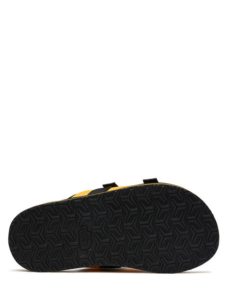 TNF YELLOW MENS FOOTWEAR THE NORTH FACE SLIDES - NF0A46B3LE6