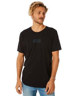 BLACK MENS CLOTHING HURLEY TEES - AJ1777010