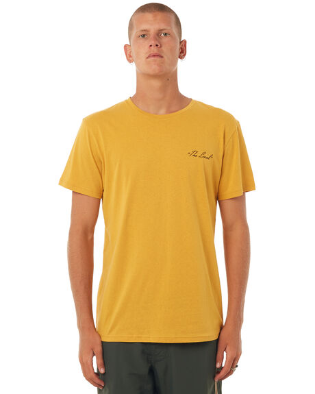 GOLD OUTLET MENS RHYTHM TEES - DEC17M-SS06GOLD