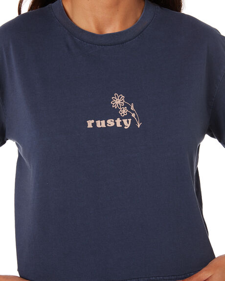 OMBRE BLUE WOMENS CLOTHING RUSTY TEES - TTL1101-OMB