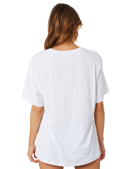 WHITE WOMENS CLOTHING CHARLIE HOLIDAY TEES - GSW1011WHT