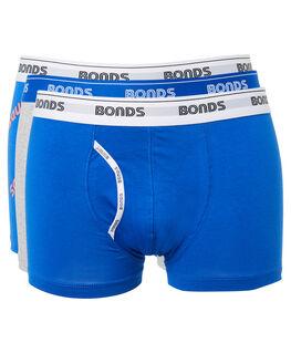PACK TEN MENS CLOTHING BONDS SOCKS + UNDERWEAR - MYDK3A10K