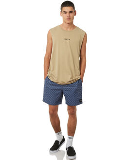 GOLDRUSH MENS CLOTHING RVCA SINGLETS - R181010GRSH