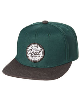 GREEN MENS ACCESSORIES COAL HEADWEAR - 220006GRN