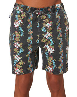 BLACK MENS CLOTHING RIP CURL SHORTS - CWAMY10090