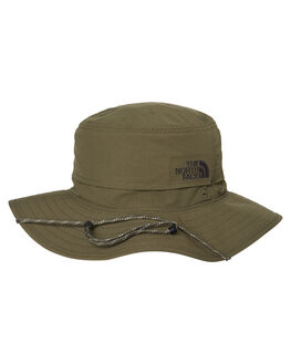 TAUPE GREEN GREY MENS ACCESSORIES THE NORTH FACE HEADWEAR - NF00CF7T79K