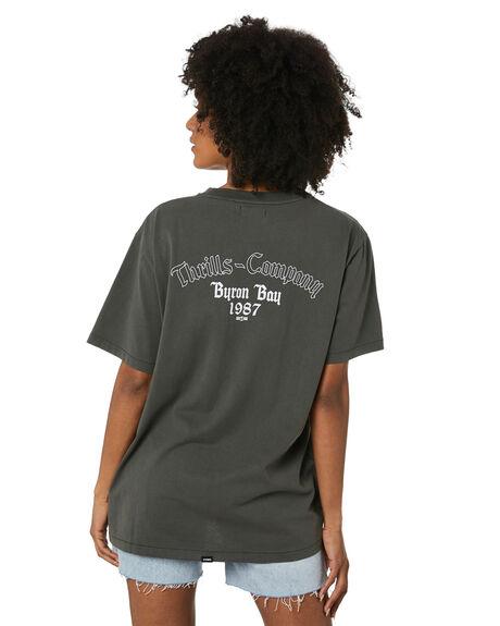 MERCH BLACK WOMENS CLOTHING THRILLS TEES - WTR20-107BMMBLK