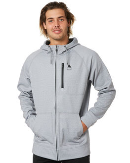 GREY HEATHER MENS CLOTHING BURTON JUMPERS - 16538108020
