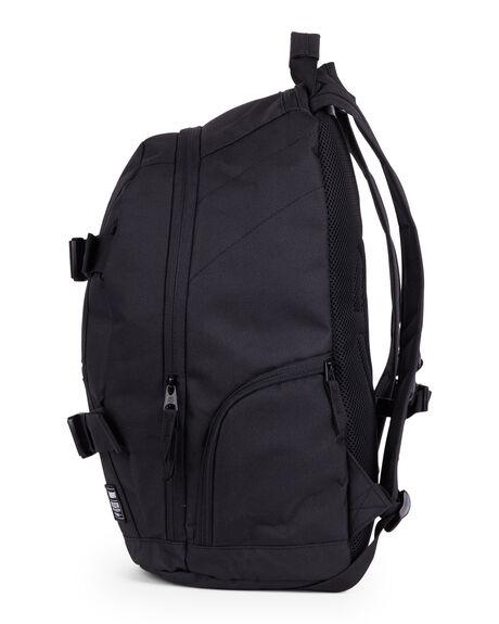 ALL BLACK MENS ACCESSORIES ELEMENT BAGS + BACKPACKS - EL-183485-AB1