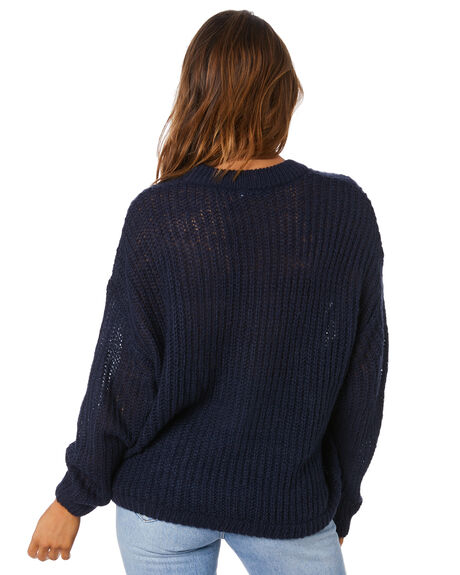 BLUE NIGHTS WOMENS CLOTHING SWELL KNITS + CARDIGANS - S8213147BNIGH