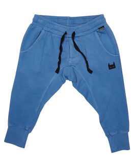 WASHED BLUE KIDS TODDLER BOYS MUNSTER KIDS PANTS - MK172TR05WBLU