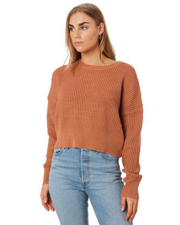 CINNAMON WOMENS CLOTHING NUDE LUCY KNITS + CARDIGANS - NU23669CINN