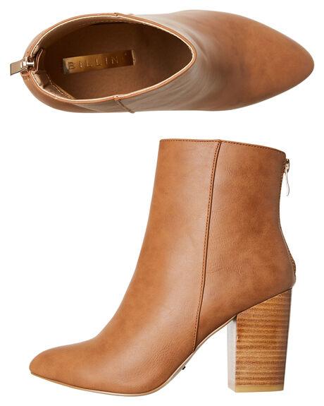 TAN WOMENS FOOTWEAR BILLINI BOOTS - B875TAN