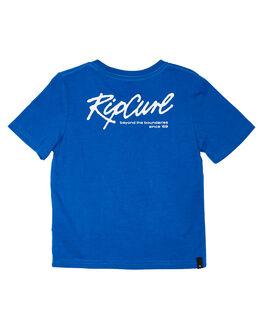ROYAL BLUE KIDS BOYS RIP CURL TOPS - OTEWA20071