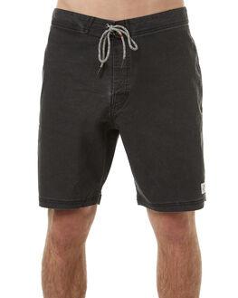 BLACK WASH MENS CLOTHING KATIN BOARDSHORTS - TRPARS17BKWSH