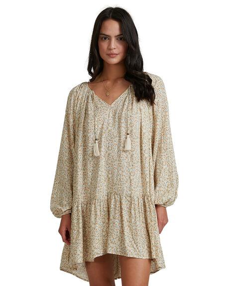 BEIGE WOMENS CLOTHING BILLABONG DRESSES - 6518463-BEI