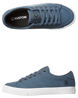 STEEL BLUE KIDS BOYS KUSTOM FOOTWEAR - 4806105LSBLU