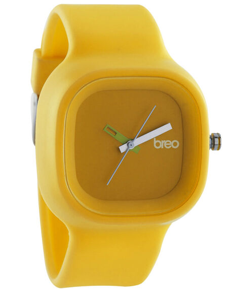 YELLOW MENS ACCESSORIES BREO WATCHES - B-TI-ES4YEL