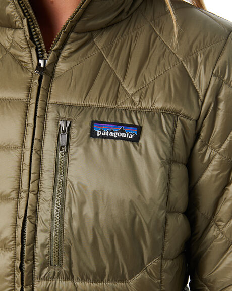 SAGE KHAKI WOMENS CLOTHING PATAGONIA JACKETS - 27695SKA