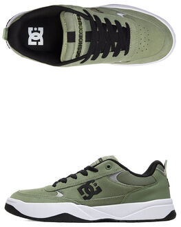 BRIGHT WHITE S RETRO MENS FOOTWEAR DC SHOES SNEAKERS - ADYS100509-OLV