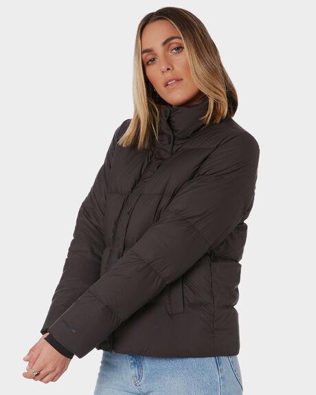 BLACK WOMENS CLOTHING PATAGONIA JACKETS - 27935BLK