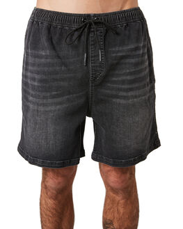 BLACK WASH MENS CLOTHING RUSTY SHORTS - WKM0983BCW