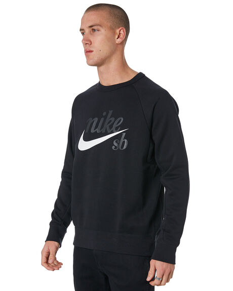BLACK MENS CLOTHING NIKE JUMPERS - 886092011