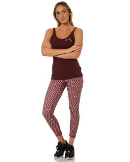 MAROON MULTI WOMENS CLOTHING THE UPSIDE ACTIVEWEAR - UPSW418039MULTI