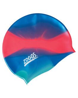 BLUE PINK GREEN BOARDSPORTS SURF ZOGGS SWIM ACCESSORIES - 300634BLUPG