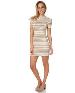 70S STRIPE WOMENS CLOTHING AFENDS DRESSES - 51-03-131SEVST