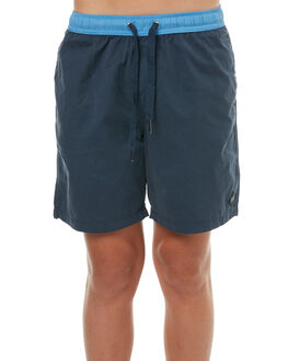NAVY KIDS BOYS SWELL BOARDSHORTS - S3183236NAVY