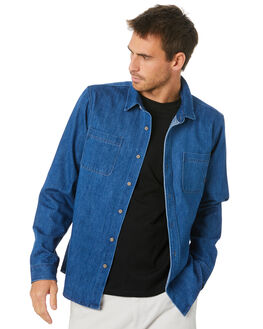 DENIM MENS CLOTHING SWELL SHIRTS - S5204167DENIM