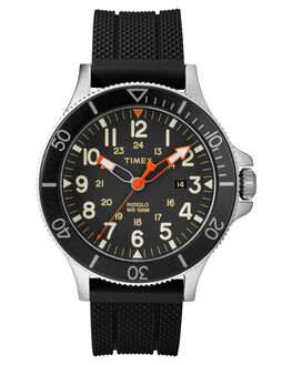 BLACK BLACK DIAL MENS ACCESSORIES TIMEX WATCHES - TW2R60600BLK