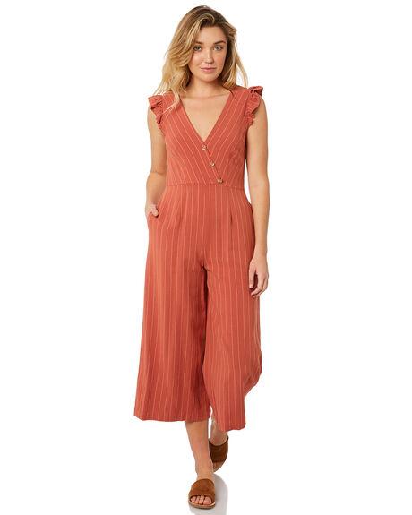 ab583636dffa Minkpink Winona Linen Jumpsuit - Clay