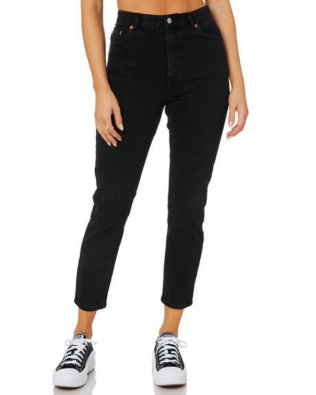 BLACK WOMENS CLOTHING DR DENIM JEANS - 2020103097