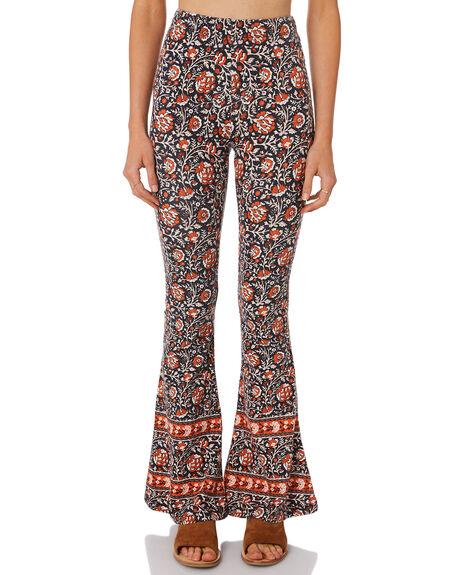 KHAKI WOMENS CLOTHING THE HIDDEN WAY PANTS - H8184203KHAKI