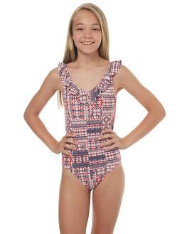 MARSHMALLOW MEXICAN KIDS GIRLS ROXY SWIMWEAR - ERGX103025WBT6