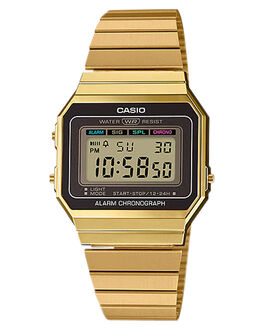 GOLD MENS ACCESSORIES CASIO WATCHES - A700WG-9AGLD