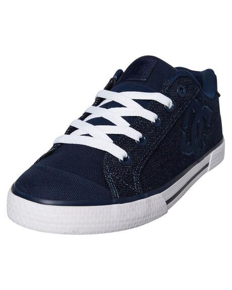 DARK BLUE WOMENS FOOTWEAR DC SHOES SNEAKERS - ADJS300025DBL