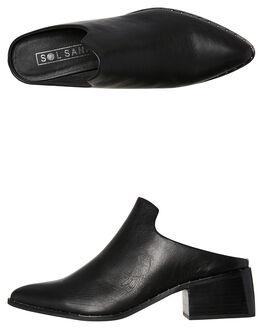 BLACK WOMENS FOOTWEAR SOL SANA BOOTS - SS181W402BLK