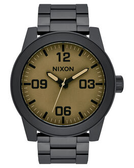BLACK MATTE SAGE MENS ACCESSORIES NIXON WATCHES - A3462988