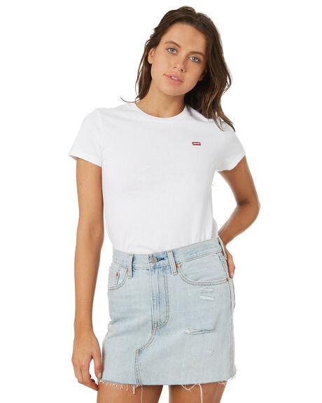WHITE WOMENS CLOTHING LEVI'S TEES - 39185-0006WHTCN