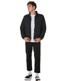 BLACK MENS CLOTHING HERSCHEL SUPPLY CO JACKETS - 50008-00457BLACK